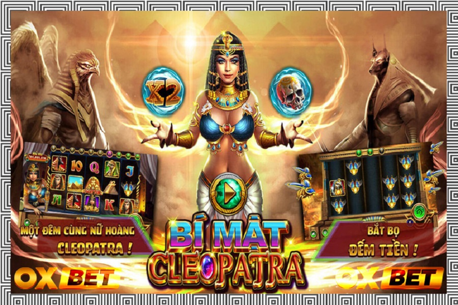 Trải nghiệm game Bí Mật Cleopatra tại nhà cái May88