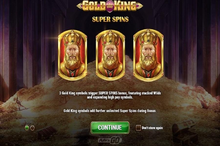 Hướng dẫn chơi game nổ hũ Gold-King